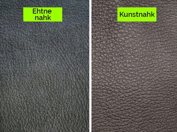 Ehtne Nahk ja Kunstnahk ehk PU-nahk. Mis on Nende Erinevus?
