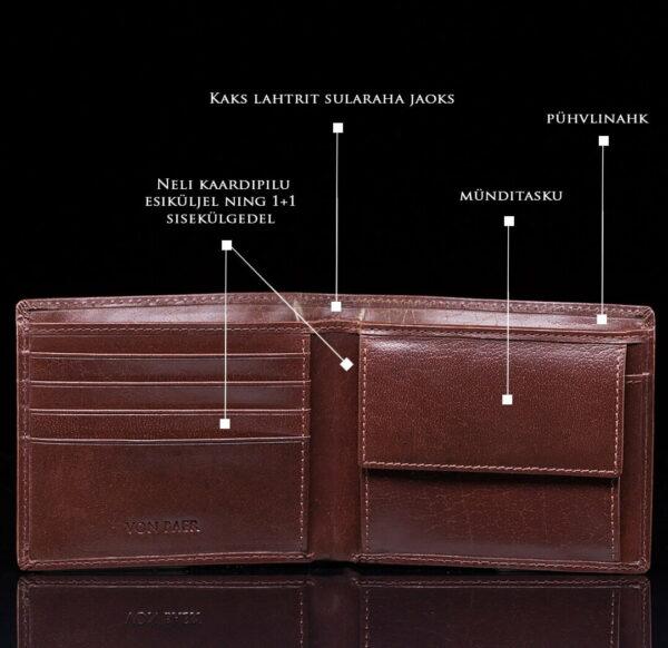 klassikaline meeste rahakott