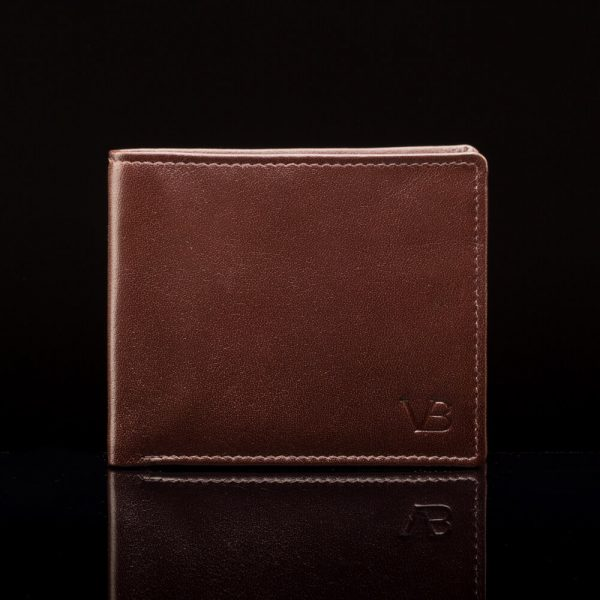 münditaskuga rahakott pruun